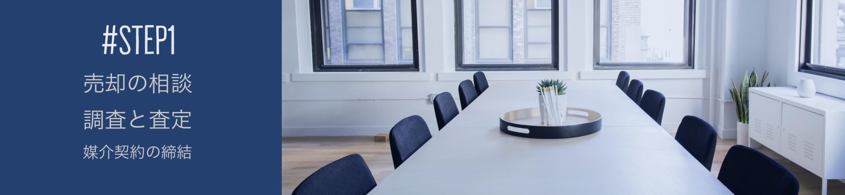 売却の相談、物件調査・査定、媒介契約